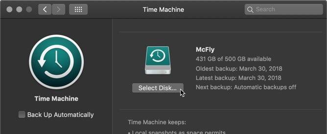 كيفية إعداد Time Machine لاستخدام محركات أقراص متعددة للنسخ الاحتياطي في Mac