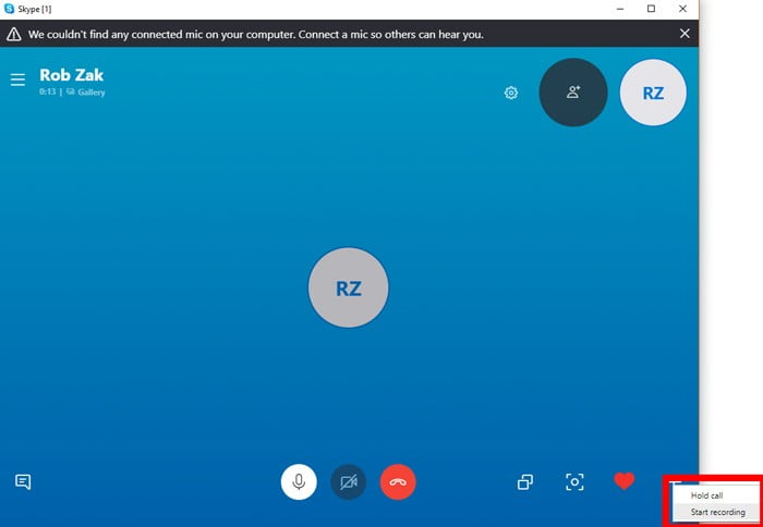 كيفية تسجيل مكالمات Skype في Windows 10 - الويندوز