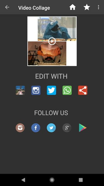أفضل 5 تطبيقات لـ Video collage maker لـ Android و iOS