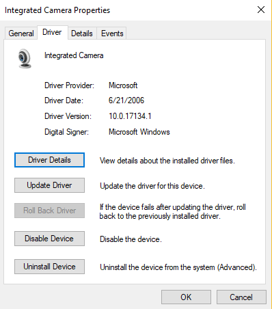 كيف يمكن اصلاح كاميرا ويب لا تعمل على Windows 10
