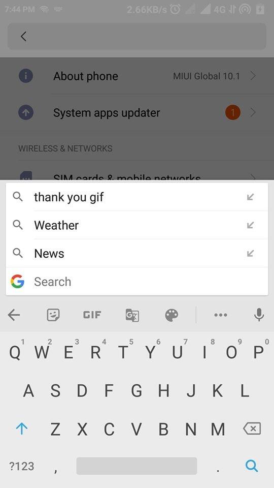 كيفية تمكين وضع لوحة المفاتيح العائمة في Google Gboard - Android شروحات