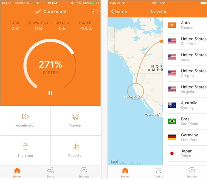 أفضل 10+ تطبيقات iPhone لزيادة سرعة الإنترنت