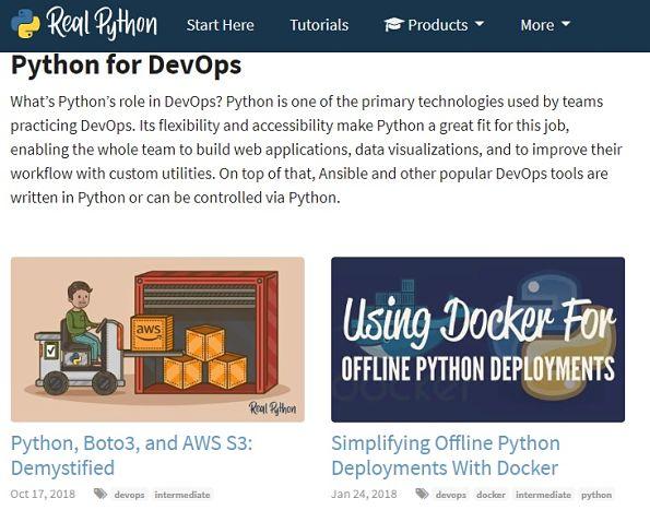 أفضل 5 مواقع لتعلم لغة Python على الإنترنت مجاناً
