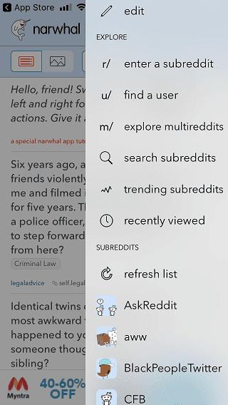 10 من أفضل تطبيقات Reddit للهواتف الذكية Android و iOS - Android iOS
