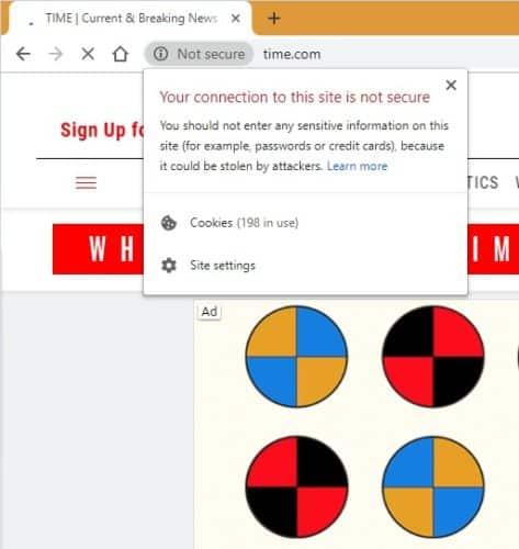 """كيفية التعامل مع تحذير """"غير آمن"""" على Google Chrome - مقالات"""