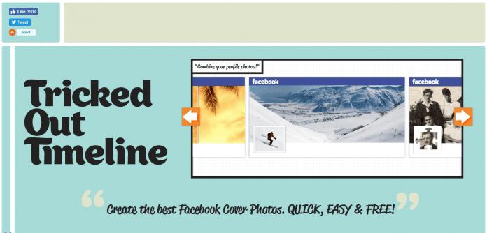 كيفية الجمع بين غلاف Facebook مع صورة الملف الشخصي