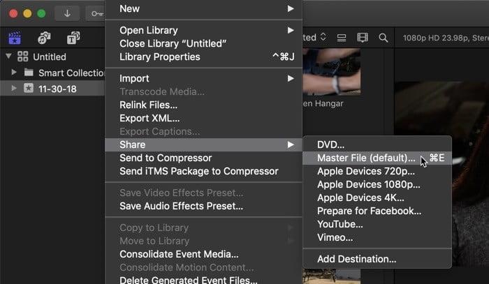 كيف تبدأ في استخدام برنامج تحرير الفيديو الاحترافي Final Cut