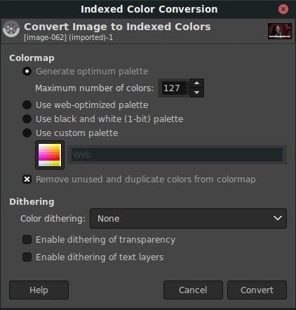 كيفية إنشاء ملف GIF من ملف فيديو باستخدام VLC و GIMP
