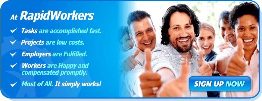 RapidWorkers : احتيال أم ربح شرعي؟ مراجعة مع إثبات الدفع 2020