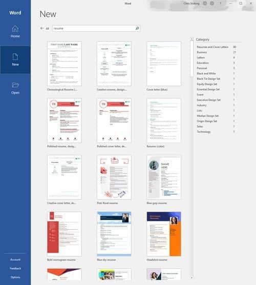 دليلنا حول إنشاء السيرة الذاتية المثالية باستخدام Microsoft Word