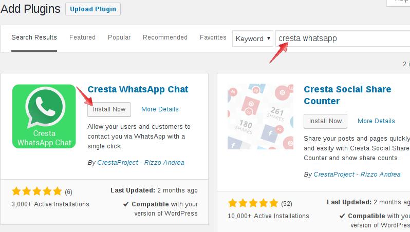 كيفية إضافة مربع دردشة WhatsApp إلى موقع WordPress الخاص بك - Series WordPress احتراف الووردبريس