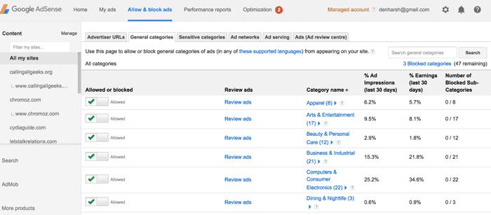 10 طرق لـ زيادة تكلفة النقرة على AdSense مع تعديلات بسيطة - Google AdSense