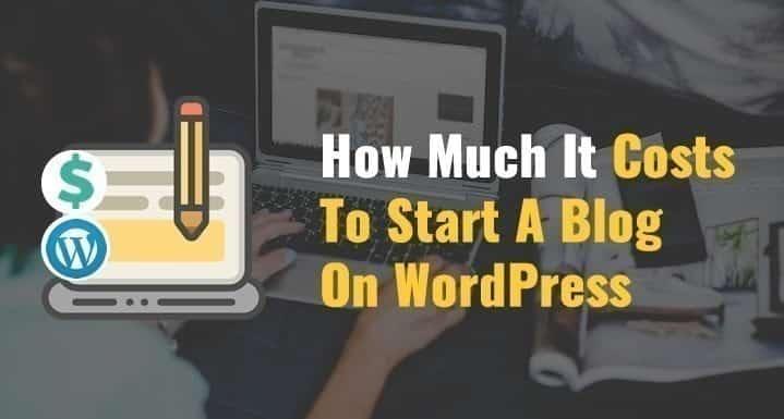 Combien cela coûtera-t-il de créer un blog WordPress auto-hébergé ? - WordPress Professionnel WordPress