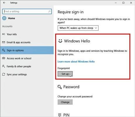 Comment configurer et utiliser Windows Hello - Windows