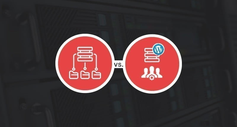 Hébergement WordPress partagé vs hébergement géré : quel hébergement vous convient le mieux ? - WordPress Professionnel WordPress