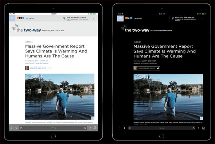 5 meilleurs navigateurs iOS avec mode sombre - iOS