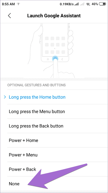 google assistant home button remove 9 935adec67b324b146ff212ec4c69054f DzTechs - كيفية إزالة Google Assistant من زر الصفحة الرئيسية
