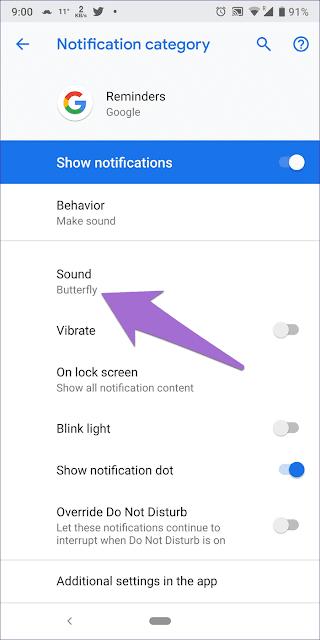 google assistant reminder sound 7 935adec67b324b146ff212ec4c69054f DzTechs - كيفية تغيير صوت التذكير على Google Assistant