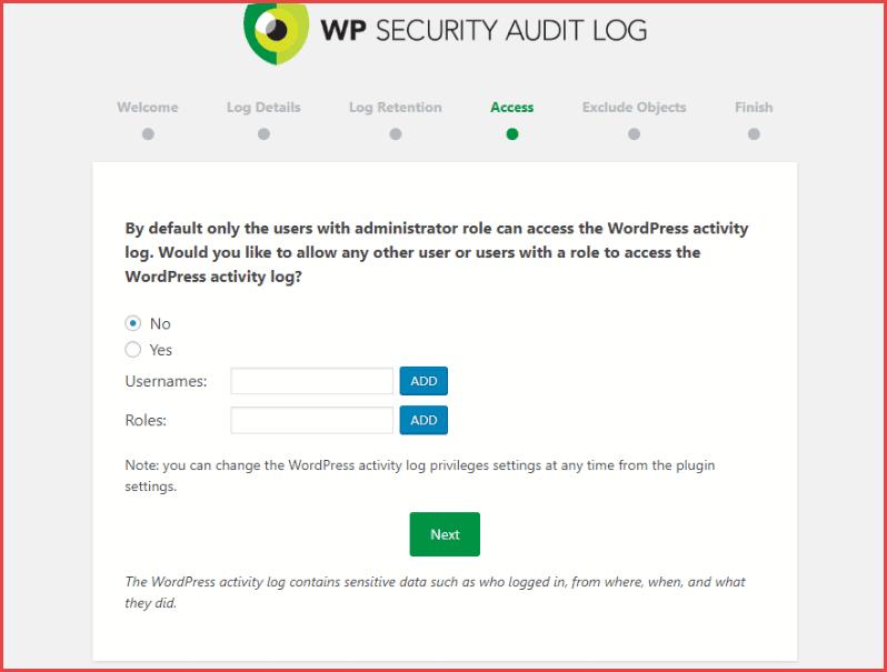 لماذا وكيف تقوم بإنشاء سجل تدقيق الأمان على WordPress مجانا