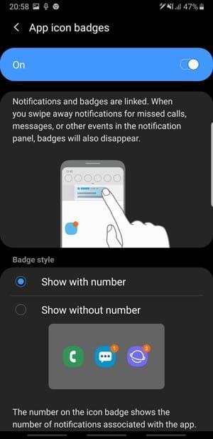 النصائح والحيل والميزات المخفية على Samsung One UI