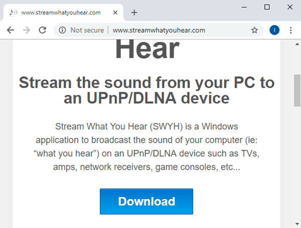كيفية بث الصوت من جهاز الكمبيوتر إلى جهاز Android