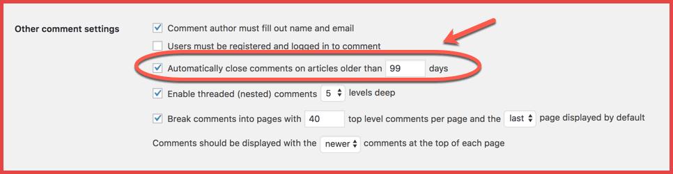هذا هو كيف يمكنك تعطيل التعليقات داخل مقالات WordPress