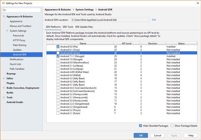كيفية تثبيت Android SDK على نظام التشغيل Windows 10 - Android الويندوز
