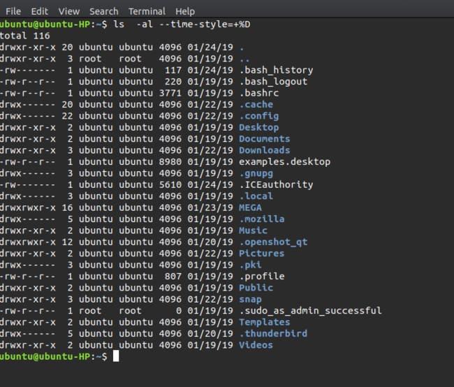 كيفية معرفة متى تم الوصول إلى ملف ما في نظام Linux