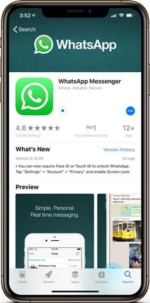 كيفية تمكين معرف اللمس ومعرف الوجه على تطبيق الـ WhatsApp