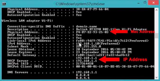 كيفية العثور عن عنوان MAC وتغييره على جميع أنظمة التشغيل