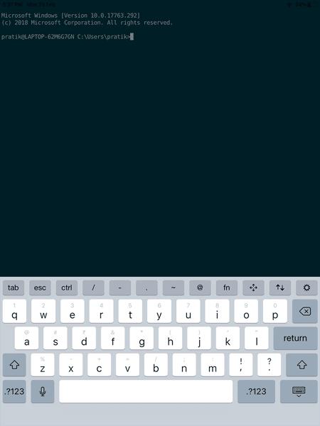 Meilleur client SSH pour iOS pour gérer des serveurs à distance