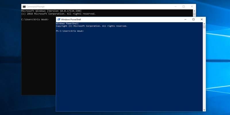 Comment activer les commandes automatiques lorsque vous démarrez l'invite de commande / Powershell