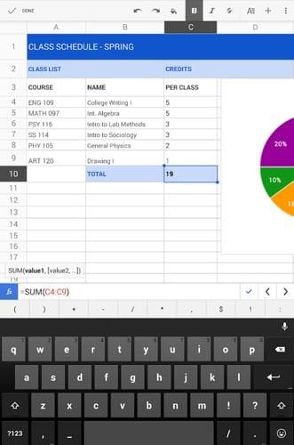 4 des meilleures applications de tableur pour Android