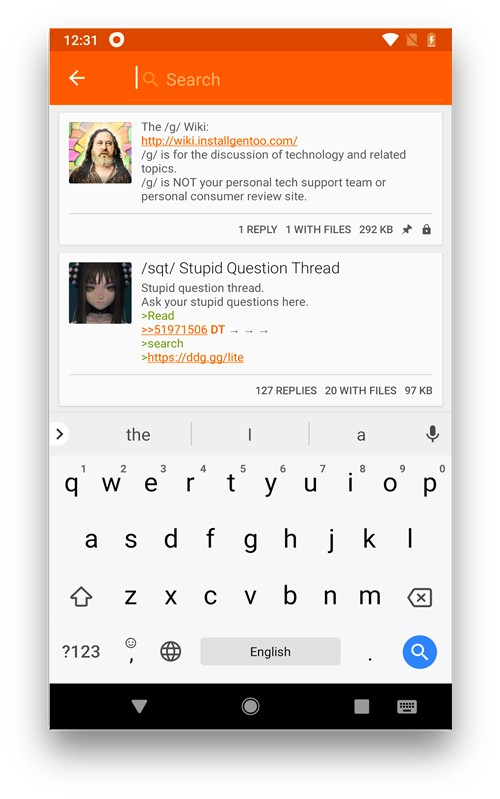 6 من أفضل التطبيقات لعرض منتدى 4chan لنظام التشغيل Android و iOS - Android iOS
