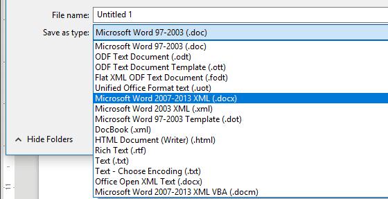 LibreOffice مقابل OpenOffice: اتخاذ القرار الصحيح