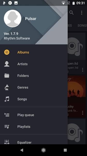أفضل تطبيقات تشغيل الموسيقى لنظام Android