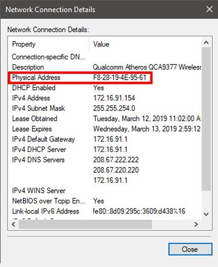 ما هو عنوان MAC وكيفية العثور عليه وهل يمكن تغييره على مختلف المنصات