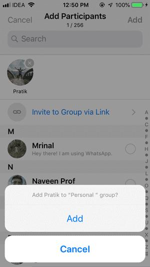 add pratik to group DzTechs - كيفية منع الناس من إضافتك إلى مجموعات WhatsApp