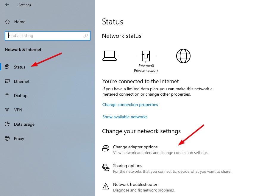 كيفية تغيير أولوية الشبكة في نظام Windows