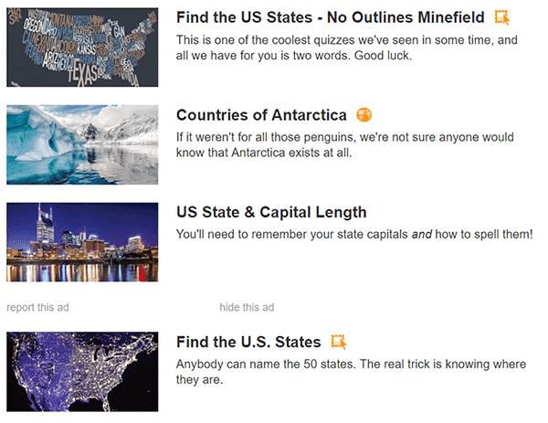 7 من الألعاب المتعة عبر الإنترنت لمهووسي الجغرافيا - ألعاب