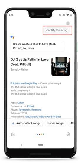 song identified DzTechs - 10 حيل واختصارات سريعة لـ Google Assistant لتحل محل التطبيقات على Android الخاص بك