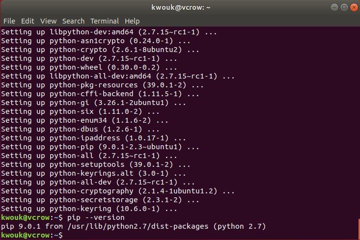 كيفية تثبيت Pip مدير حزم Python في نظام Ubuntu   تقنيات ديزاد
