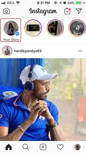 1 tap story min DzTechs - كيفية نشر الصور المباشرة كقصة على Instagram من iPhone