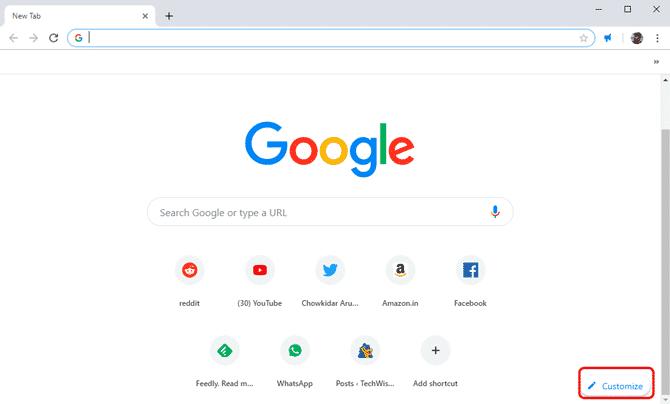كيفية تعيين خلفية مخصصة على شاشة Google Chrome الرئيسية تقنيات ديزاد
