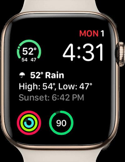 أفضل تطبيقات الطقس لـ Apple Watch - Apple Watch