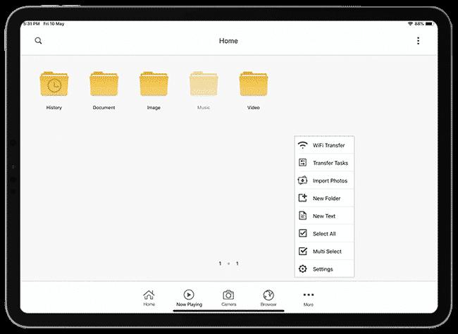 أفضل تطبيقات إدارة الملفات على جهاز iPad Pro