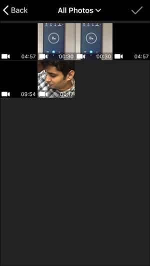 IMG 0175 DzTechs - ضغط مقاطع الفيديو المسجلة من خلال iPhone للبريد الإلكتروني و WhatsApp