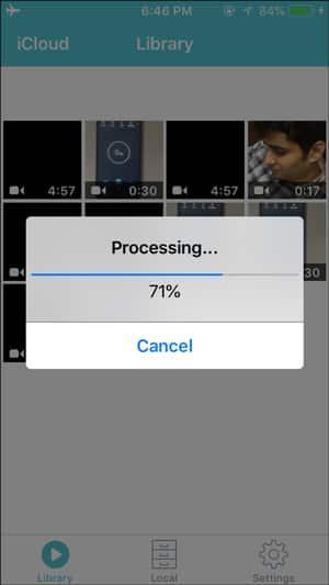 Compresser les vidéos iPhone enregistrées pour les e-mails et WhatsApp - iOS