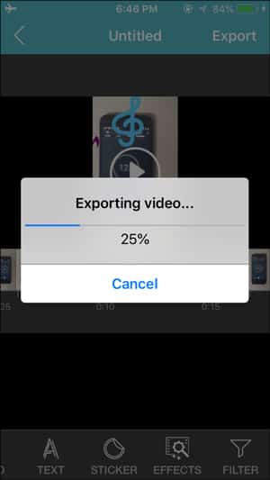 IMG 0190 DzTechs - ضغط مقاطع الفيديو المسجلة من خلال iPhone للبريد الإلكتروني و WhatsApp