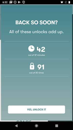 Screenshot 20180726 183300 DzTechs - أفضل 10 تطبيقات لمساعدتك على الإبتعاد عن هاتفك